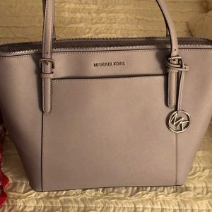 Michael Kors Lilac tote worn once